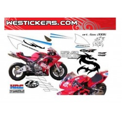 Stickers Kit Race replica Gas 06
