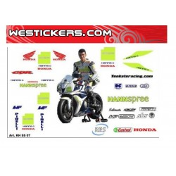 Decals Kit Honda SS TenKate...