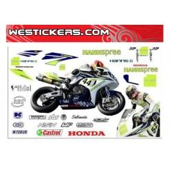 Stickers kit Honda SBK...