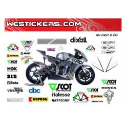 Stickers kit Honda MotoGP...