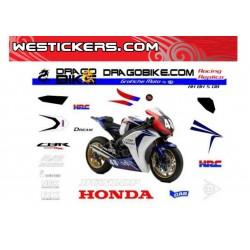 Stickers Kit Honda SBK 8...