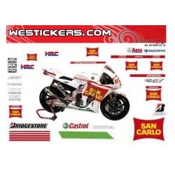Motorbike Stickers Kit...