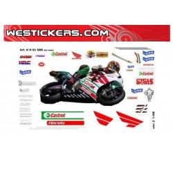 Stickers Kit Honda SP-W SBK...