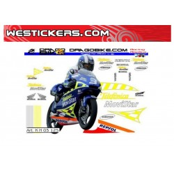 Stickers Kit Honda 125GP...